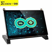 EVICIV Arduino сенсорный Экран Портативный монитор 7 дюймов Дисплей игрока Arduina Uno Мульти-сенсорный Экран комплект с Динамик Aduino нано HDMI USB