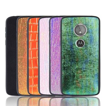 Ultra Slim Leather phone case for Motorola Moto G6 G6 play / E5 XT1922-4 / ONE / P30 Play XT1941-2 soft Back Cover Coque image