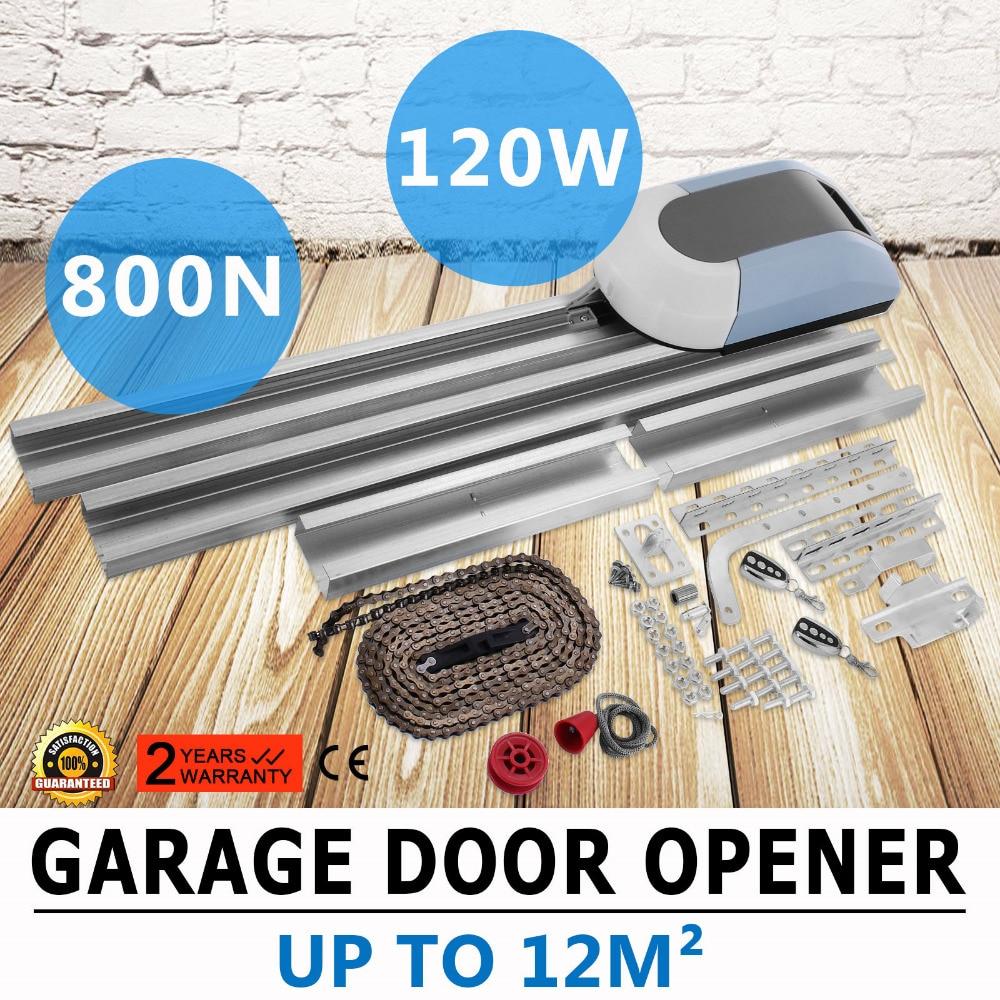 Garage Door Opener Garage Motor  800N Garage Door Motor Controller, 120 Mm / S Sectional Door Operator With Remote Control