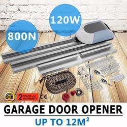Puerta de garaje abridor Motor de garaje 800N controlador de Motor de puerta de garaje, 120 mm/s Operador de puerta seccional con Control remoto