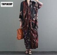 Women Floral Print Patchwork Silk Dress With Pocket Vintage Silk Shirt Dress High Quality Long Sleeve Spring Chinese Women