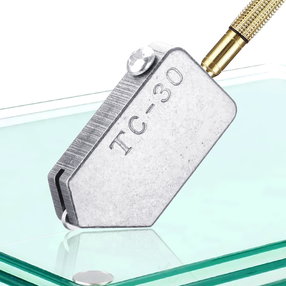 Для 2-8 мм стеклянная плитка прямой режущий TC-30 стеклорез прямой режущий инструмент головка Сменные аксессуары