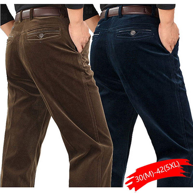 Pants Loose Middle-aged Joggers Middle-aged Men Dad Installed In Autumn And Winter 2020 Men's Casual Pants