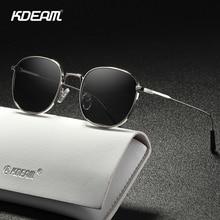 KDEAM Round Sunglasses Case Retro-Style Designer Women with Fine-Lines Lady