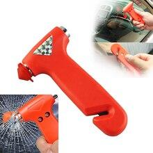 Аварийный молоток со стропорезом и с защитным колпачком для разбивания стекла