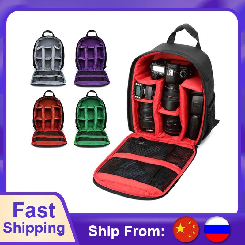 Multi-functional Camera Backpack Video Digital DSLR Bag Waterproof Outdoor Camera Bag Case For Nikon For Canon