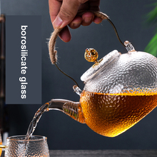 Tea-Pot Glass-Turkish Coffee Clear-Kettle Borosilicate-Glass 700ml-High-Temperature Embossed