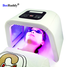 BeeRuddy طوي PDT Led قناع 7 ألوان Led قناع الوجه الوجه العلاج بالضوء العناية بالبشرة تجديد أداة الجمال