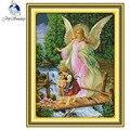 Набор для рукоделия с изображением ангела конвоя  набор для рукоделия  DMC 14CT  ткань  домашний декор