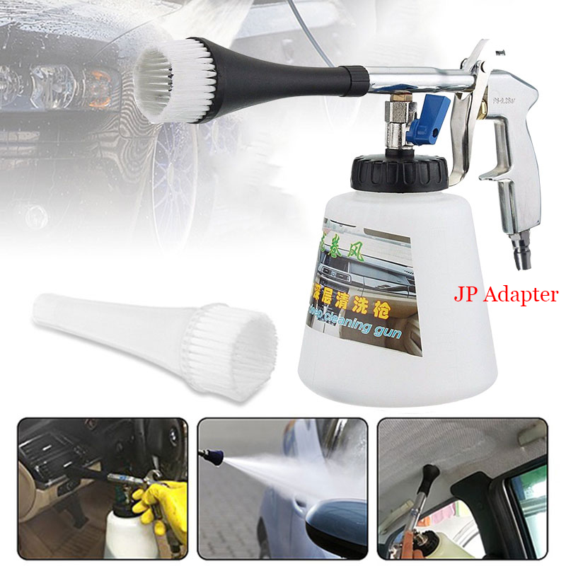 Car Washer Portable Air Operated With Brush Tornador For Interior Deep Cleaning High Pressure Water Gun Home Foam Wash Sprayer