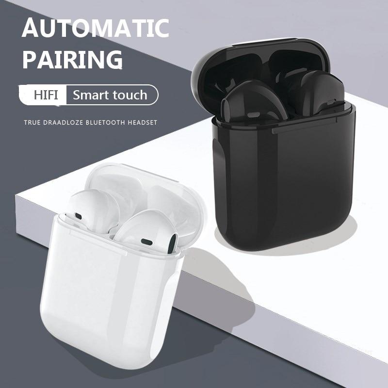 i12 tws Wireless Headphones Bluetooth 5.0 Earphones Original Touch Pop up True Earbuds Earpiece PK i11 i9s With Charging Box|Bluetooth Earphones & Headphones| - AliExpress