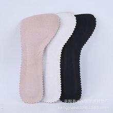 Plantillas ortopédicas suaves para mujer, almohadillas de cuero de siete puntos, Media almohadilla, plantillas para tacones antideslizantes, absorbentes para el sudor, 1 par