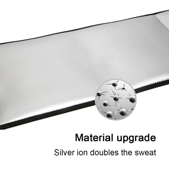 Waist Belt Trainer Men-Waist Cincher Trimmer-Sweat Crazier Slimming Body Shaper Girdle Silver Ion Belt Weight Loss Fitness 5