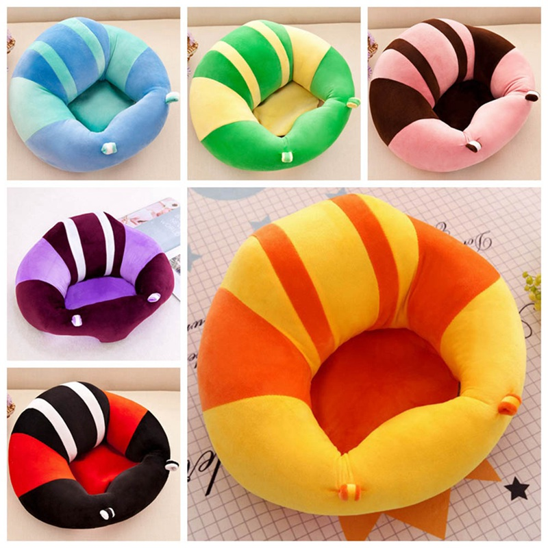 Cartoon Infant Baby Sofa Baby Safety Seat Sofa Support Cotton Feeding Chair For Baby Plush Toy