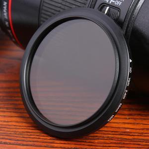 Image 1 - Schlank Fader Variable ND Filter ND2 zu ND400 Neutral Dichte Objektiv Filter 40,5mm 46mm 52mm 58mm 62mm 67mm 77mm 72mm 82mm