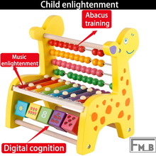 Octave Scale Knocking Abacus Counting Digital Recognition Childrens EnlightenmenToys