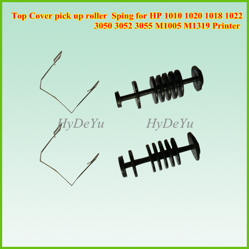 20SET For HP 1010 M1005 1319 3050 3055 Fuser Top Cover pick up roller and Sping