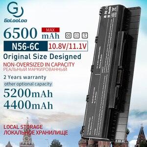 Golooloo Laptop Battery A31-N56 A32-N56 A33-N56 For Asus N56 N56D N56D N56DY N56J N56JK N56VM N56VV N56VZ N56JN N56JR N56V N56VB