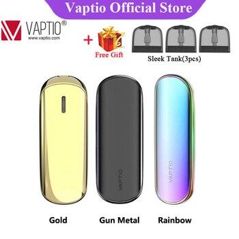 Vaptio – kits de vapoteur élégants d'origine, avec vaporisateur UI frais, batterie intégrée de 400 mAh et dosette de 1.5ml, cigarettes électroniques