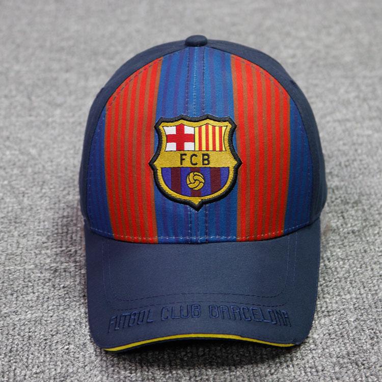 Football Club Embroidered Baseball Cap Adjustable Baseball Cap for Soccer Fans New Season