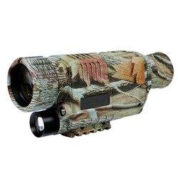 5X42 Digitale A Raggi Infrarossi Di Visione Notturna Occhiali di Protezione Monoculare 200M Gamma di Video Dvr Imager Per Dispositivo di Caccia Della Macchina Fotografica (Spina degli stati uniti)