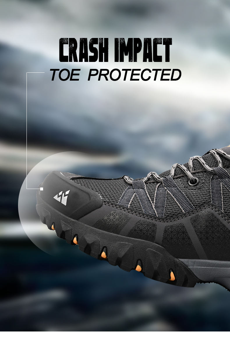 Hiking Shoes Mesh Fabric Mountain Climbing Shoes Outdoor Trekking Sneakers Fishing Hunting Boots