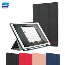 цена на SUREHIN cover for apple iPad 10.2 case silicone protective soft Pro 10.5 skin for iPad air 10.5 case with pencil holder cover