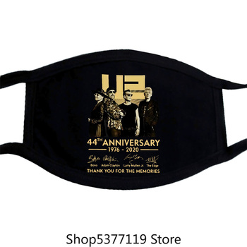 U2 Band Mask 44Th Anniversary 1976 2020 Signed Gift Fan Thanks Mask Size S 5Xl