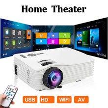 LED Projector 1080P Full HD Mini Projector 640x480 Phone Pro