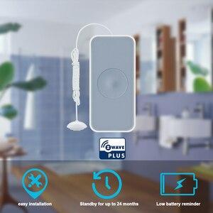 Image 2 - HEIMAN Zwave Smart Water Leakage Sensor Z wave Water overflow detector for Z wave smart home system,kitchen bathroom,pool
