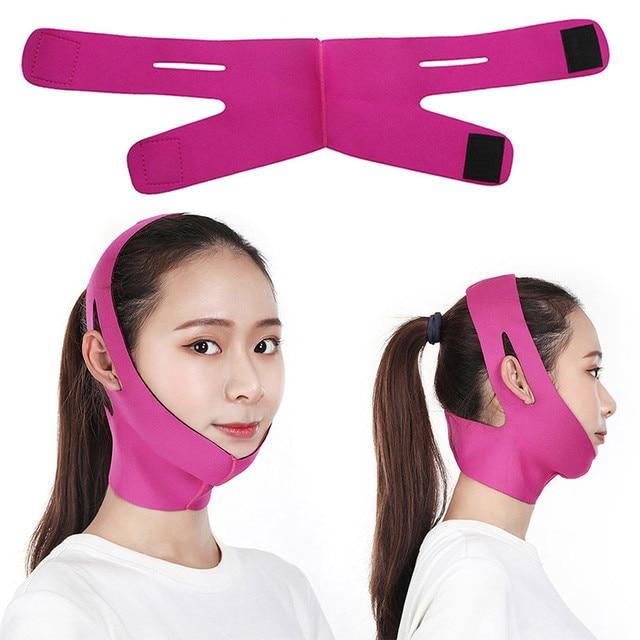 Facial Care Tool Facial Thin Face Slimming Bandage Mask Belt Shape Lift Reduce Double Chin Skin-friendly  Slimming Bandage Skin 1