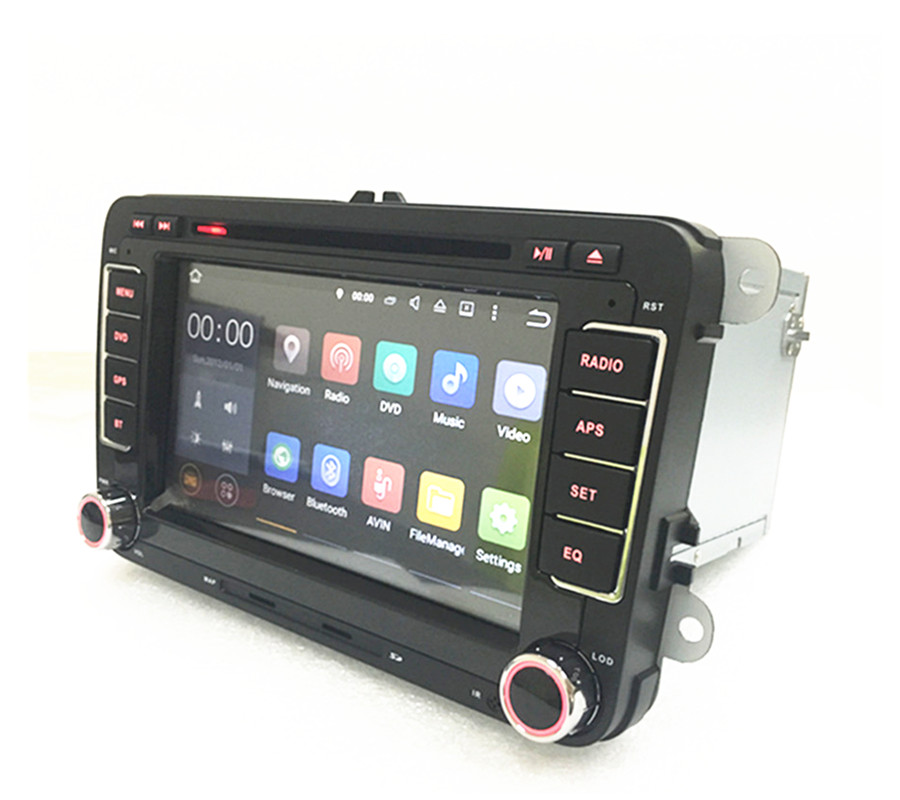 RNS510 VW Radio DVD Android  HD 1024X600 For Golf 5 6 Jetta Mk5 Mk6 Passat CC Tiguan Polo  With Gps Navigation