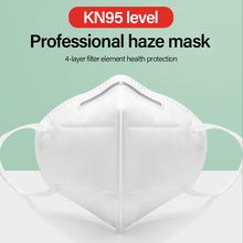 KN95 Dustproof Anti-fog And Breathable Face Masks 95% Filtration N95 Masks Features as KF94 FFP2 Five Layers Of Protection