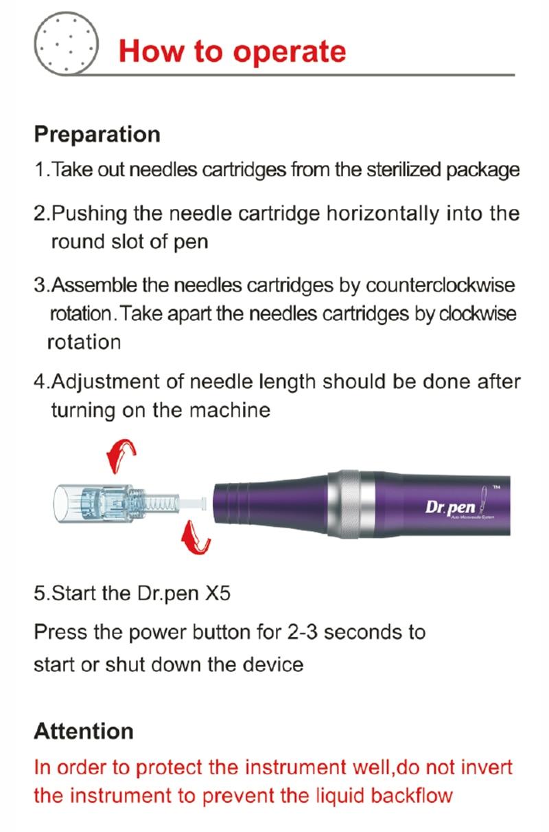 ultima X5 microneedling pen