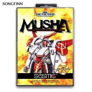Image 1 - 16 bit MD Memory Card With Box for Sega Mega Drive for Genesis Megadrive   Musha