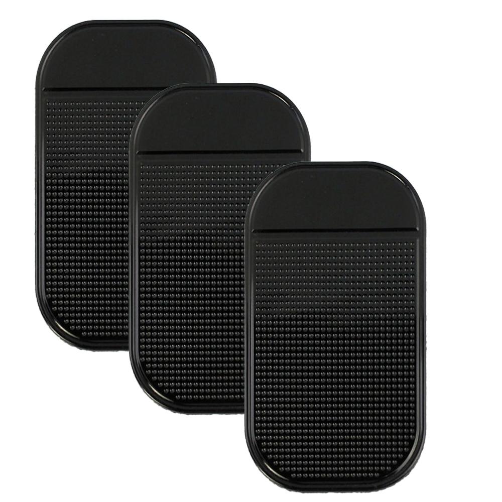 3 Pcs Nano Car Magic Anti Slip Automobiles Interior Accessories For Mobile Phone Mp3 Mp4 GPS Anti Slip Car Sticky Anti-Slip Mat
