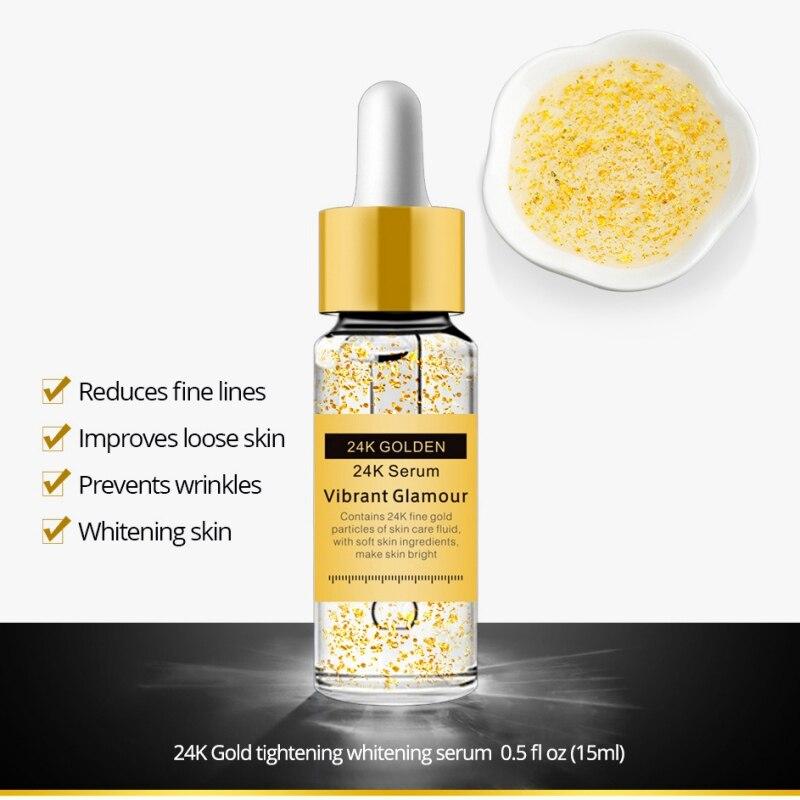 New Pregnant Woman Care Gold 24K Serum Anti-wrinkle Firming Whitening Essence Anti-aging Face Serum Moisturizing Brighten Skin