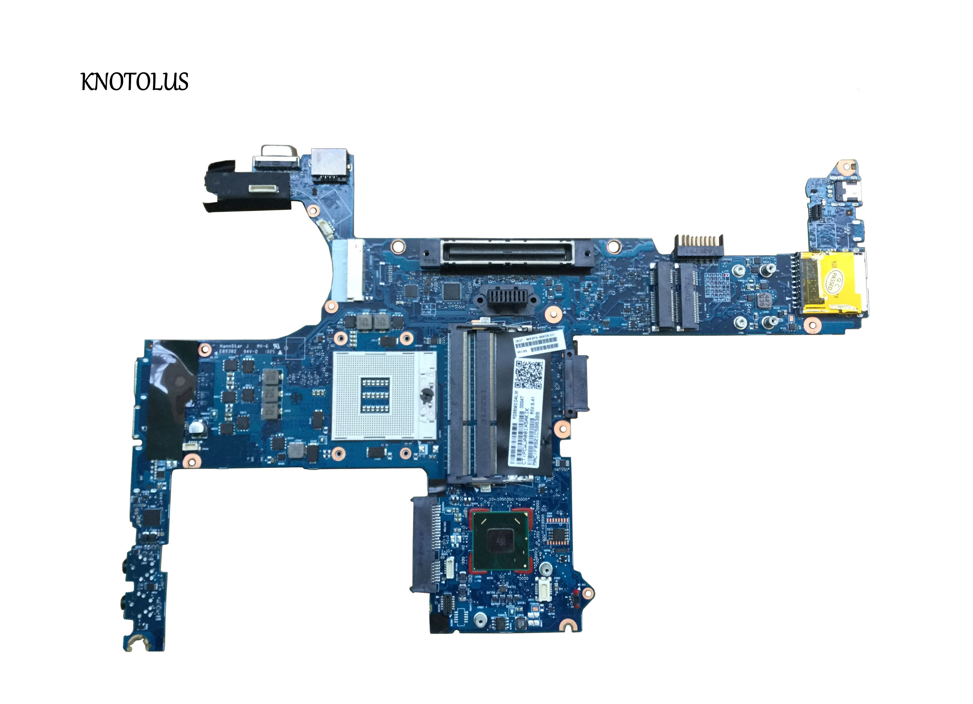 686036-501 686036-001 Free Shipping 6050A2466401 For HP ProBook 6470b Motherboard UMA HM76 S989 Laptop Motherboard