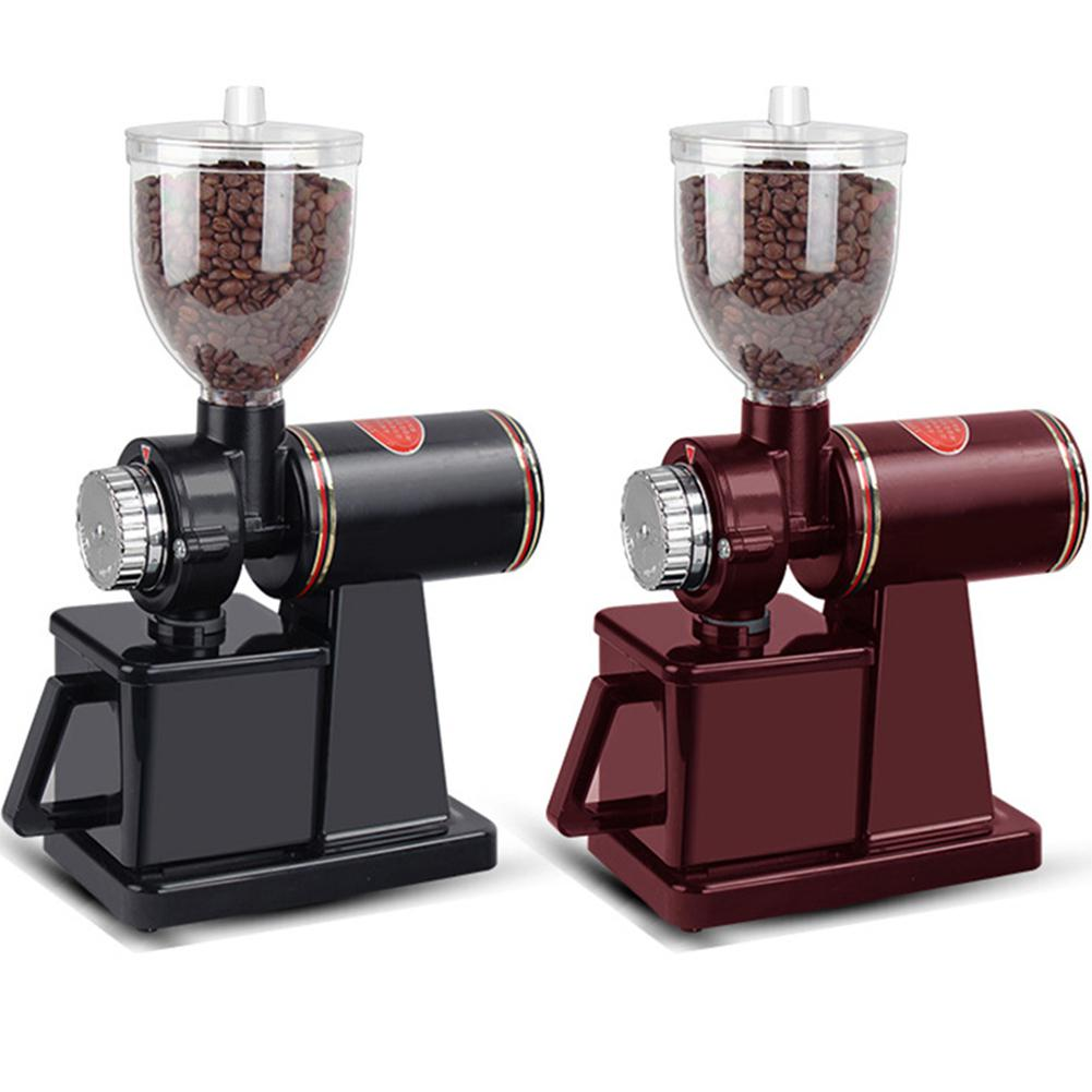 Adoolla Electric Adjustable Home Coffee Grinder Bean Grinding Machine