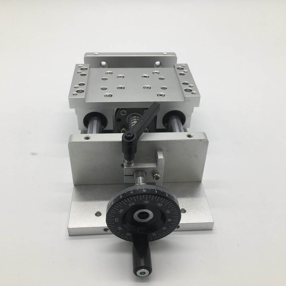 100MM Stroke SFU1605 150KG Heavy Load Manual Precision  Table Slide Linear Stage