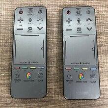 Kullanılan orijinal AA59 00761A uzaktan kumanda samsung RMCTPF1AP1 akıllı 3D LED LCD TV HUB dokunmatik ses denetleyicisi ile çizikler