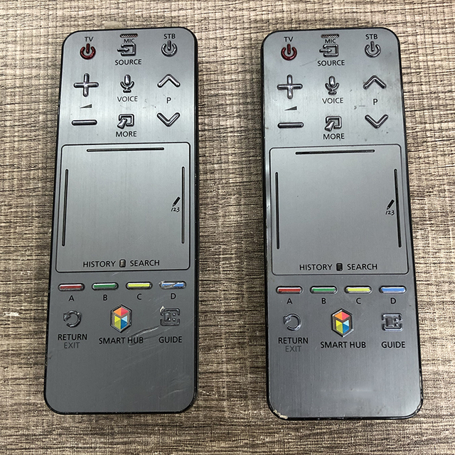 Used Original AA59 00761A Remote control FOR SUMSUNG RMCTPF1AP1 Smart 3D LED LCD TV  HUB Touch Voice Controller With Scratches
