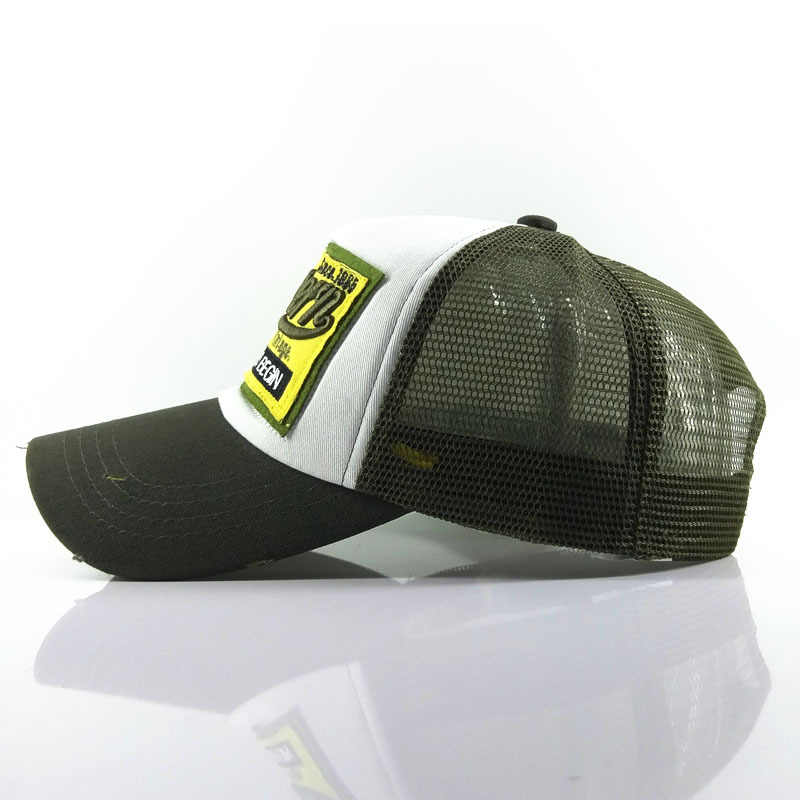 Marka NUZADA yeni erkek beyzbol şapkası mektup yaz file şapka şapka erkekler kadınlar için Snapback Gorras Hombre şapkalar rahat Hip Hop baba şapka