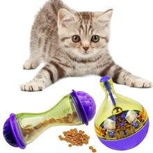 Кормушки для кошек пищевой шар для домашнего животного встряхивание для IQ игрушка лечение 6c4 собаки яйцо игра умнее увеличивает игрушки тумблер кошачий шар