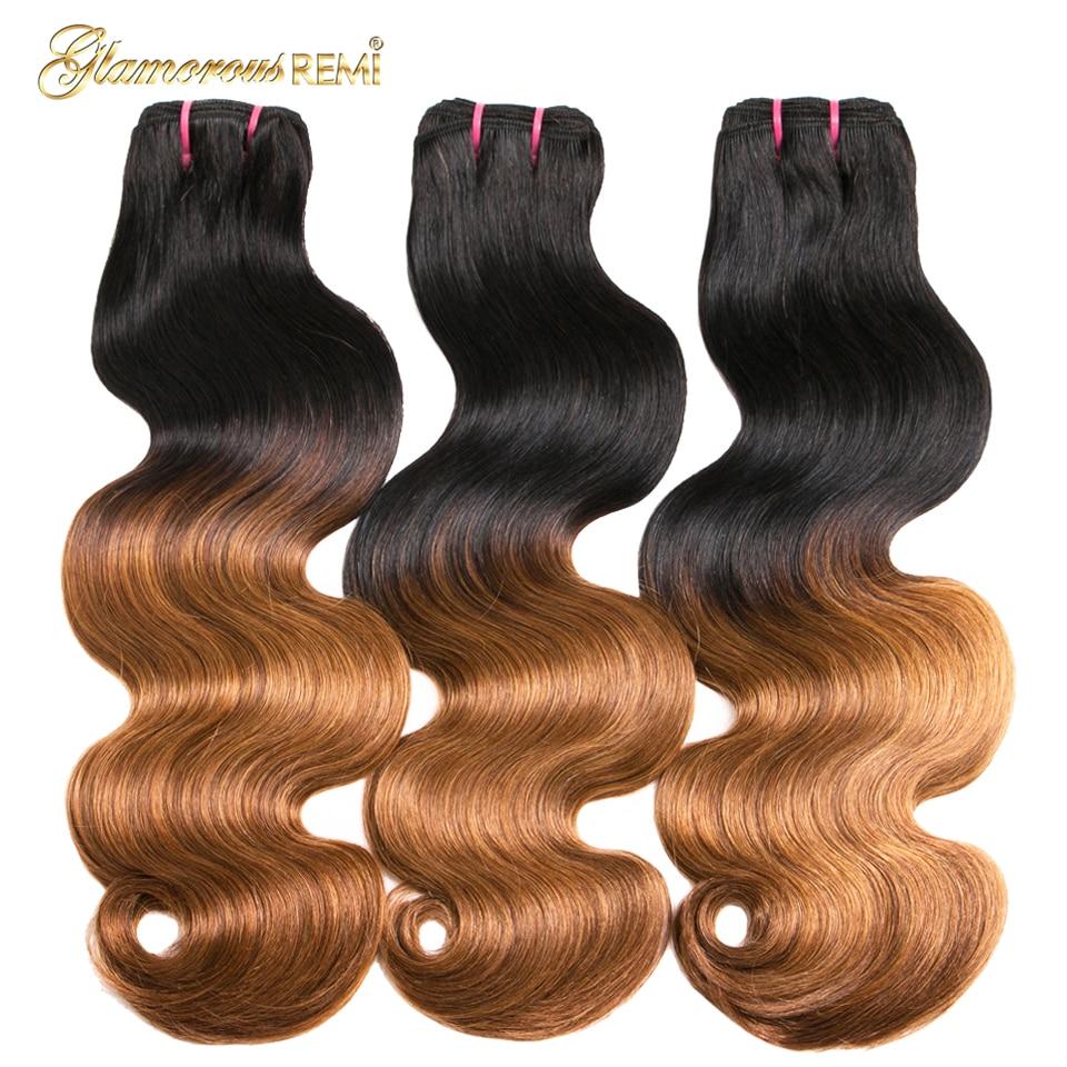 100% human hair bundles bouncy curl 08