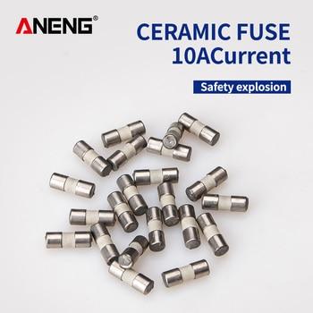 цена на Ceramic Fuse For Multimeter Instrument 600mA 10A  ceramic British plug fuse
