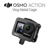 Support de Cage vidéo en métal en aluminium ULANZI OA 1 pour caméra daction DJI Osmo, boîtier de protection Vlog accessoires daction Osmo