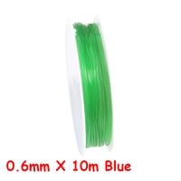 0.8mm X 7m Green
