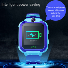 Newest Smartwatch Q12B Kids Smart Watch Phone Life Waterproof LBS Positioning Tracker S0S SIM Call Watchs