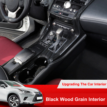 Cover Stickers Decor Window-Lift-Switch Black Lexus Nx for Car Rear QHCP Shift-Knobs